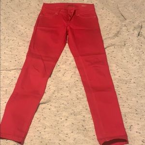Like new pair of DL1961 hot pink jeans